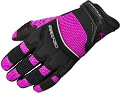 Combining the benefits of a leather palm with the benefits of a breathable fabric on the back of the hand these gloves are functional for a variety of riding disciplines. Additional leather reinforcement on the palms for added durability.