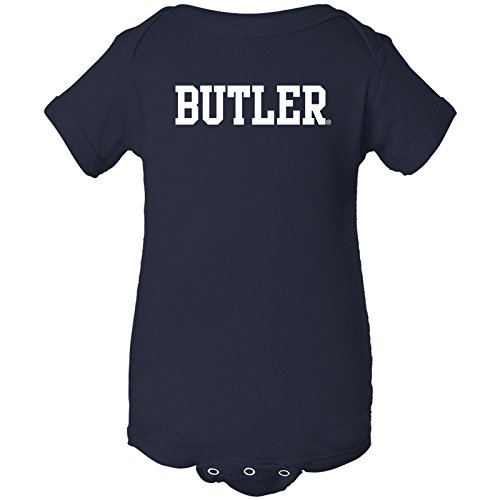 YC01 - Butler Bulldogs Basic Block Creeper - 6 Months - Navy