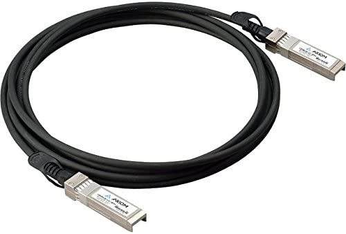 Network Device First End: 1 x SFP+ Network 3.28 ft Twinaxial Network Cable for Router Second End: 1 x SFP+ Network Switch AT-SP10TW1-AX Axiom Twinaxial Network Cable Axiom Memory