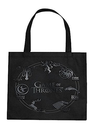 Game of Thrones Tote Bag Silver Sigil Other Borse