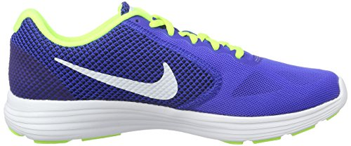 Running Multicolore Chaussures volt Nike De Blue racer Revolution 3 Homme white black 7ZUwICq