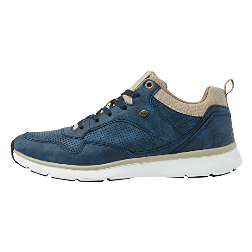 British Knights Steel Mid Men's High-Top Sneaker Navy/Beige