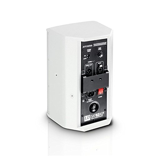 """LD Systems SAT 62 AG2W - 6.5"""" powered Installation Monitor - White - LDSAT62AG2W"""