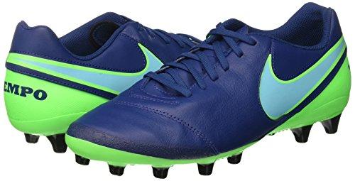 Pour Ag Chaussures Hommes Vert Rage Bleu Polaris Tiempo En De Ii Football Nike Ctier pro bleu Genio Cuir Blu dqXwEd