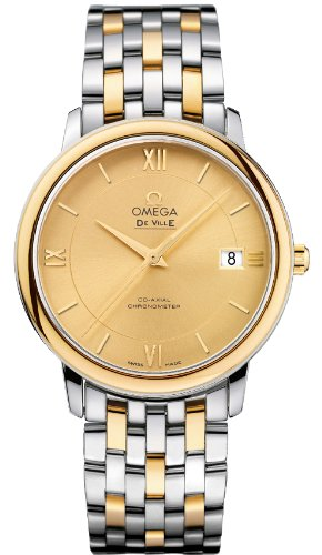 Omega Deville Prestige Co-Axial Mens Watch 424.20.37.20.0...