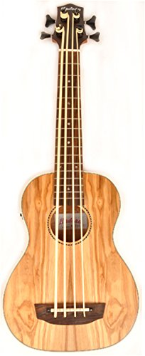 Hadean Acoustic Electric Bass Ukulele UKB-24