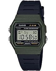Casio Men's Classic Quartz Resin Strap, Black, 19.25 Casual Watch (Model: F-91WM-3ACF)
