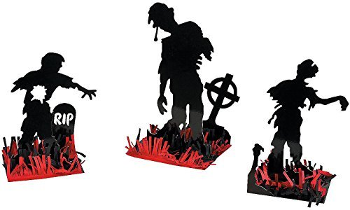 Zombie Party 3 Piece Table Centerpiece