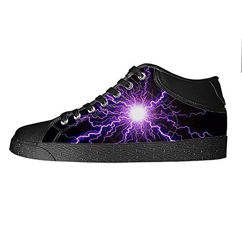 Custom illuminazione Womens Canvas shoes I lacci delle scarpe scarpe scarpe da ginnastica Alto tetto