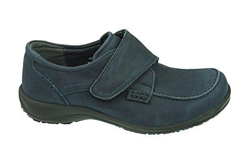Dr Largeur Bleu Femme brinkmann H Chaussures Cushy 840616 1 2 ZwBvZ