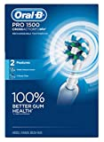 Oral-B Toothbrush Pro 1500 Cross Action Rechargeable (2 Pack)