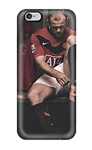 Oscar M. Gilbert's Shop 6725817K75974182 Perfect Tpu Case For Iphone 6 Plus/ Anti-scratch Protector Case (wayne Rooney Using Shoes)