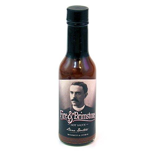 Bone Doctor's Barbeque Sauce Fire & Brimstone Hot Sauce