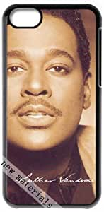 Luther Vandross Signed HD image case for iphone 5c black + Card Sticker by ruishername