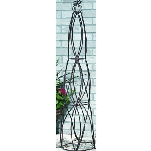 Amazon.com : CobraCo 51 Inch Cone Obelisk OBECON L : Plant Stands : Garden  U0026 Outdoor