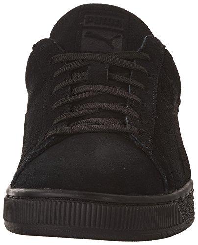 Zapatillas de deporte cl¨¢sicas de gamuza para hombre, Puma Black, 13 M US
