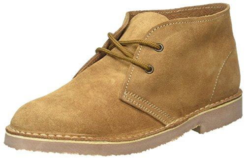 Boots Sand Wildleder Desert Dunkelbraun Roamer Original Unisex IwPqpBT