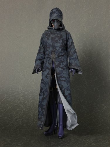 Resident Evil 5 Hot Toys Video Game Masterpiece 1/6 Scale Collectible Figure Jill Valentine Battle Suit