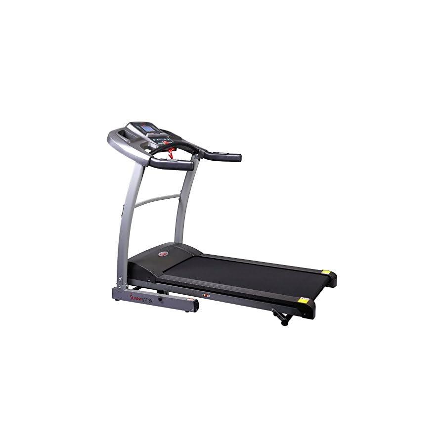 Sunny Health & Fitness SF T7514 Heavy Duty Walking Treadmill