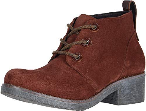 (NAOT Footwear Women's Love Boot Rust Suede Combo 5 M US )