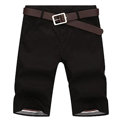 - iZHH Mens New Sports Breathable Fashion Pants Summer Fitness Running Pants(Black,32)