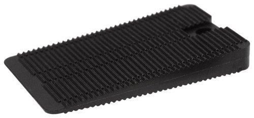 Polypropylene Wedge Shaped Black Width Length