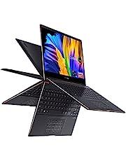 "ASUS ZenBook Flip S Ultra Slim Laptop, 13.3"" 4K UHD OLED Touch Display, Intel Evo Platform - Core i7-1165G7 CPU, 16GB RAM, 1TB SSD, Thunderbolt 4, TPM, Windows 10 Pro, Jade Black, UX371EA-XH77T"