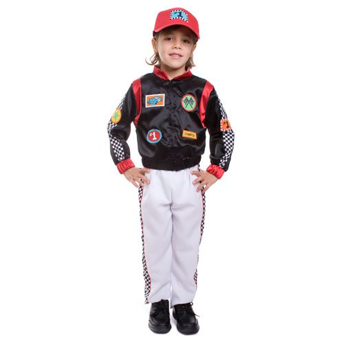 Dress Up America Race Car Driver- Small -