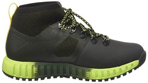 Helly Hansen Men's Vanir Canter Ht Low Rise Hiking Boots Grey (Beluga/Forest Night/Ivy Green/Sharp Green/Neon Yellow) ABR68n
