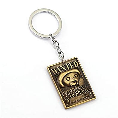 Amazon.com: Anime One Piece Wanted Warrant Keychain Nami ...