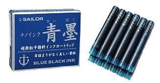Sailor Sei Boku pigmented Blue Black Ink Cartridge