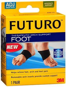 Futuro Therapeutic Arch Support Moderate - 1 pr, Pack of 4