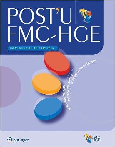 Livre gratuits en ligne Post'u FMC-HGE: Paris du 25 au 28 Mars 2010 pdf