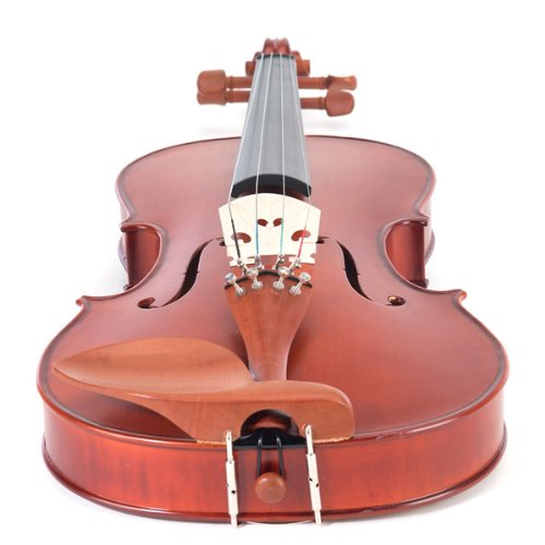 Cecilio CVA-400 12-Inch Solid Wood Flamed Viola with Chromatic Tuner by Cecilio (Image #2)