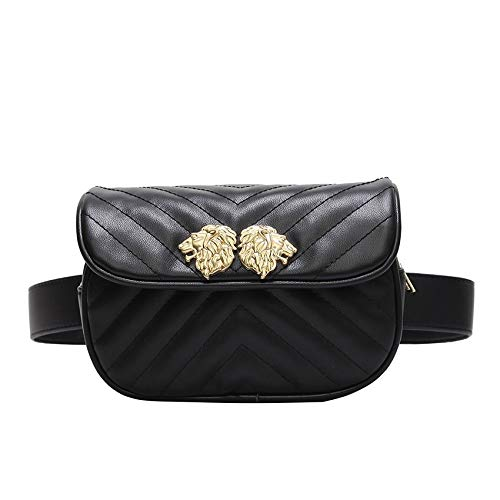 XLMLJYX Women Waist Bag Women Waist Belt Waist Bag Ladies Portable Phone Case Female Fanny