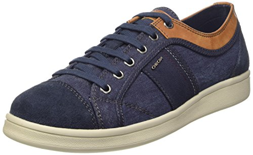 U Up A Lace Sneakers Blue Mens Shoes Warrens Geox PwfW5Tx4q
