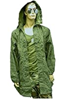 Vintage GI USA Army Military Camo, Night Desert Fishtail Parka with Hood