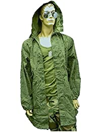 Vintage GI USA Army Military Camo, Night Desert Fishtail Parka with Hood
