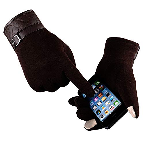 Mens Winter Gloves Cold Weather Touch Screen Work Gym Snow Ski Mittens Afterso