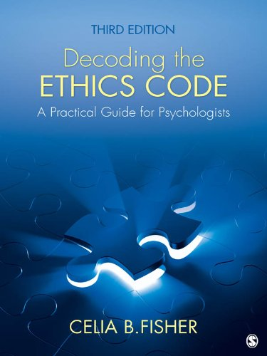 Decoding the Ethics Code: A Practical Guide for Psychologists Pdf