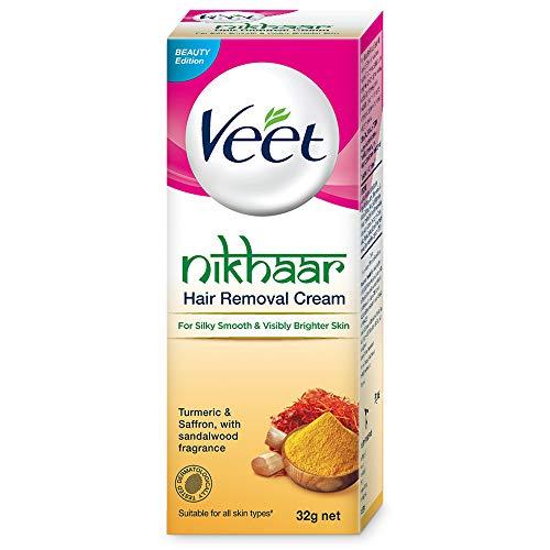 Veet Nikhaar Hair Removal Cream for All Skin Types – 32g