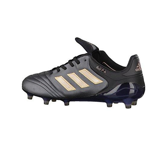 Adidas Copa 17.1 Fg, Scarpe per Allenamento Calcio Uomo, Nero (Negbas/Cobmet/Negbas), 43 EU