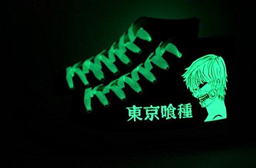 Tokyo Ghul Kaneki Ken Cosplay Schuhe Leinwand Schuhe Turnschuhe Leuchtend 1