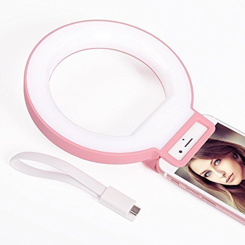 Yosoo Portable Selfie Ring Light Supplementary LED lighti...