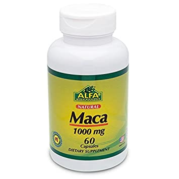 Maca 1000 Mg 60 Capsules by Alfa Vitamins