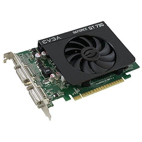 Amazon.com: EVGA GeForce GT 730 1GB DDR3 128bit Dual DVI ...