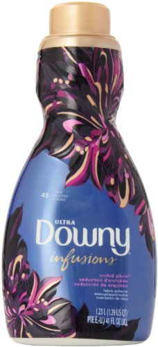 Downy Ultra Infusions Liquid Fabric Softener, Orchid Allure, 41 Ounce by Downy