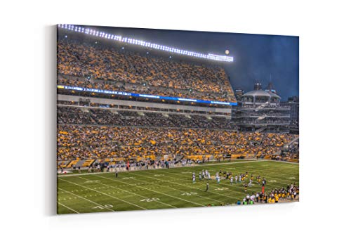 Steelers Heinz Field Stadium 306 Kb JPEG - Canvas Wall Art Gallery Wrapped 18