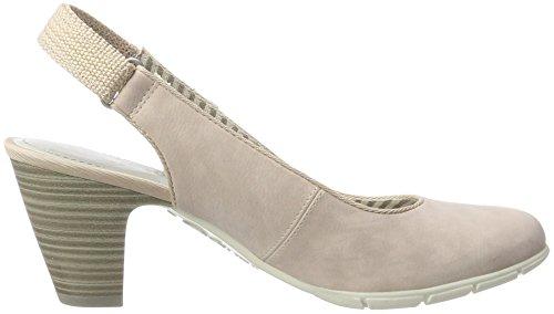 s.Oliver 29501, Zapatos de Talón Abierto para Mujer Rosa (ROSE 544)