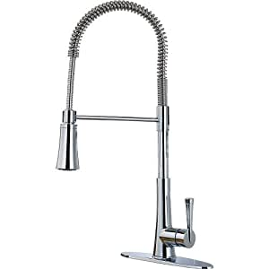 Zuri Single-Handle Pull-Down Sprayer Kitchen Faucet in Polished Chrome (GT529-MCC)